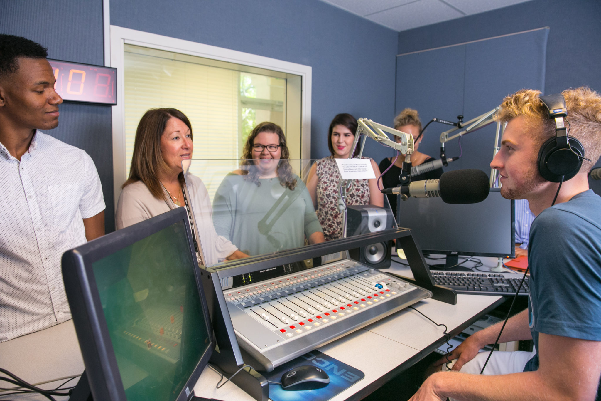 Students at Georgia Public Broadcasting