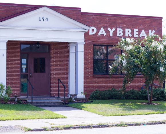 Daybreak homeless shelter