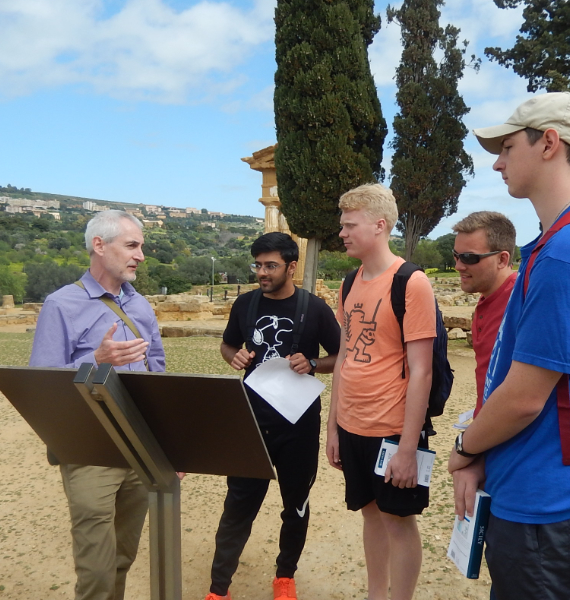 Dr. Kopp teaching abroad