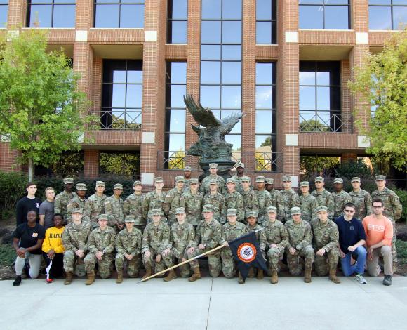 The 2019 ROTC class.