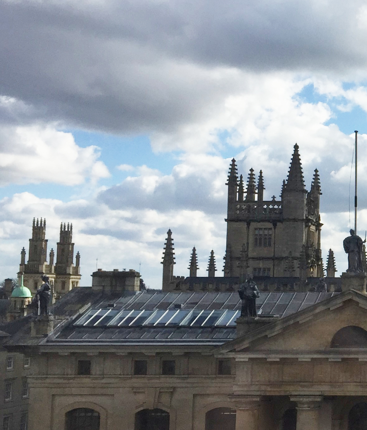 The Oxford skyline